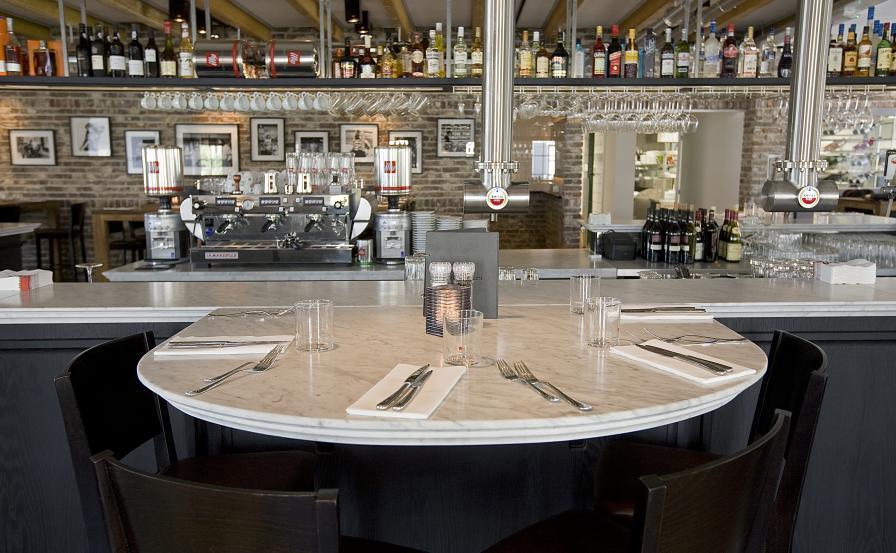 Welkom aan de Amstel, bij BarRestaurant!